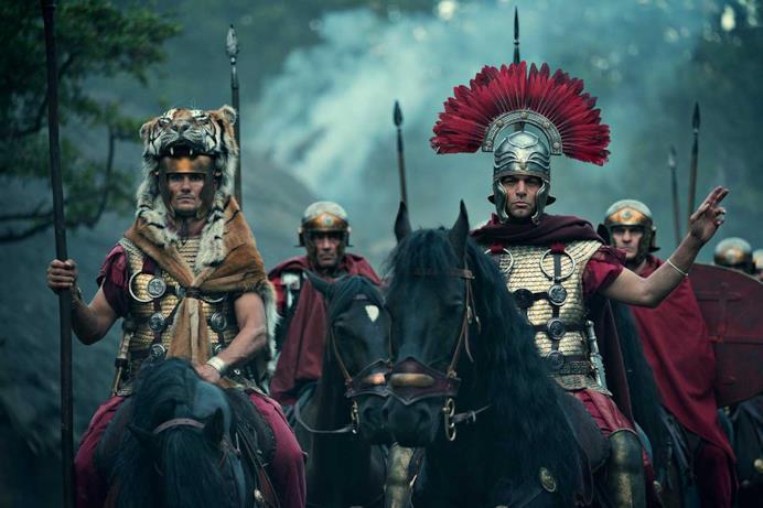 L'esercito romano si prepara ad attaccare