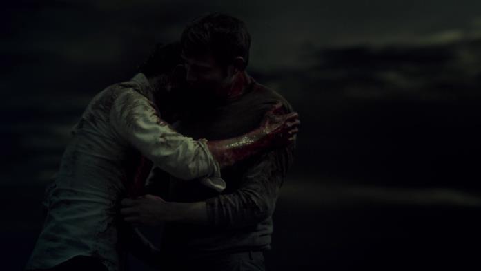 Will abbraccia Hannibal