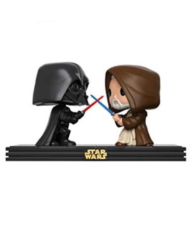 Funko Pop! Star Wars - Movie Moments - Darth Vader & Obi WAN Kenobi Death Star Duel #225 Vinyl Figure 10cm