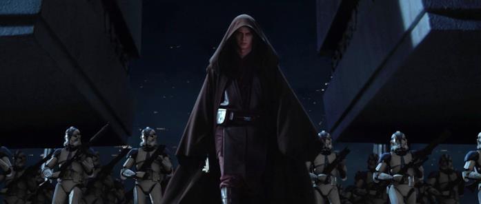 Hayden Christensen come Anakin Skywalker