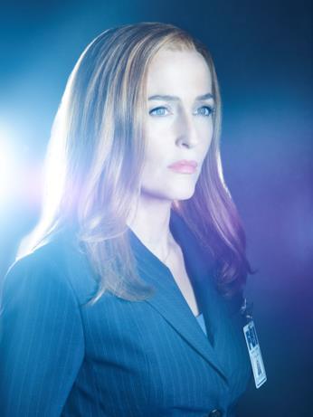 Gillian Anderson è l'agente Dana Scully in X-Files 11