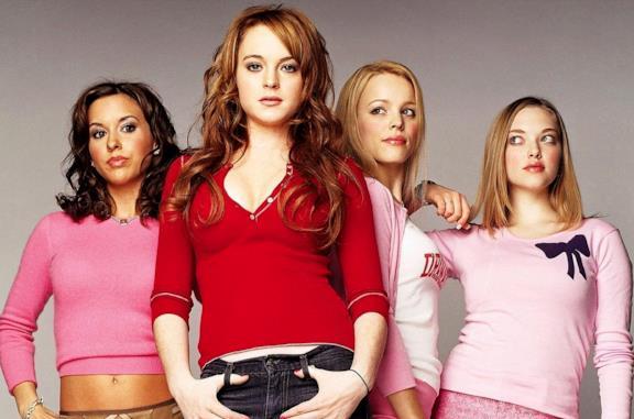 Le quattro protagoniste di Mean Girls