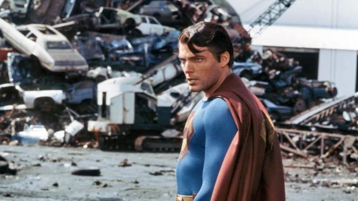 Una scena tratta da Superman III