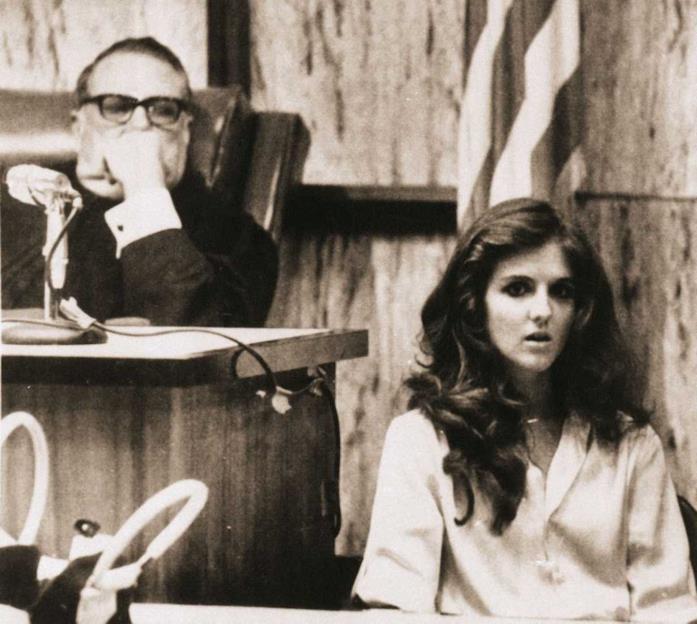Carol DaRonch durante il processo a Ted Bundy