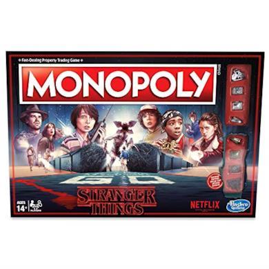 Hasbro Monopoly Stranger Things, Versione in Inglese, C4550102