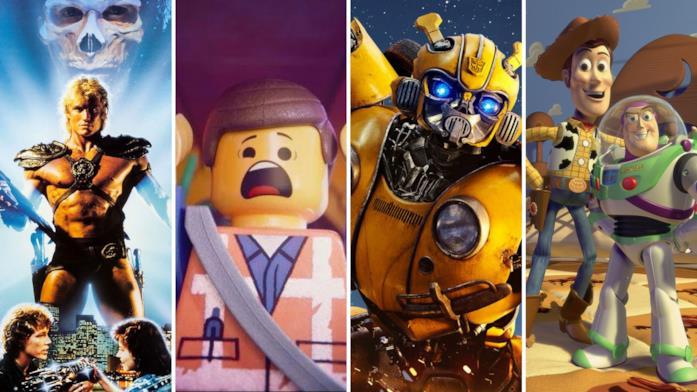 Le immagini dei film: I Dominatori dell'Universo, The LEGO Movie 2, Bumblebee e Toy Story