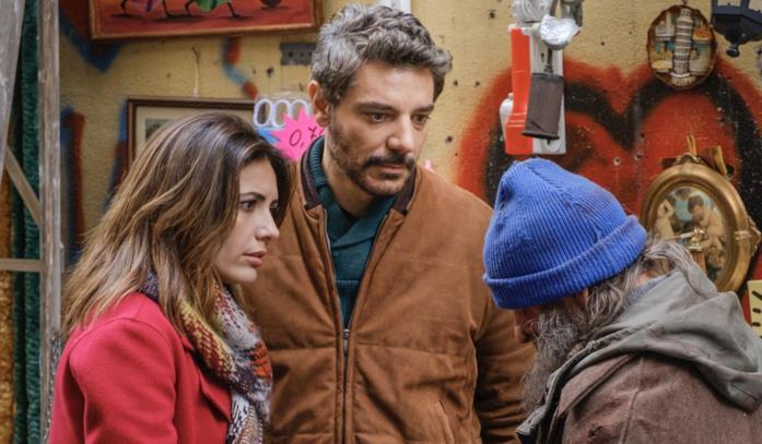 Serena Rossi con Giuseppe Zeno in una scena della fiction
