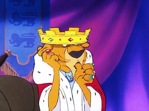 Il Principe Giovanni in Robin Hood