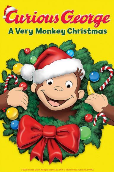 Poster Curioso come George: Un vero Natale da scimmia