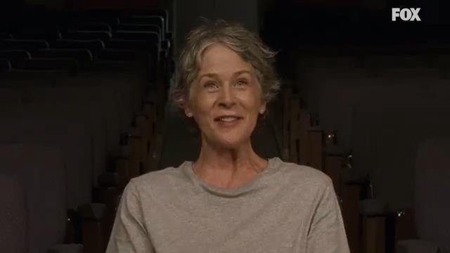 Carol nella stagione 7 di The Walking Dead
