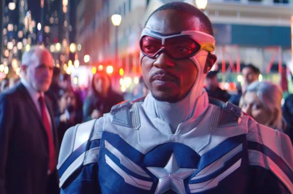 Un'immagine di Sam Wilson/Captain America
