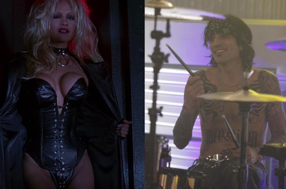 Pamela Anderson in Barb Wire e Tommy Lee in Bones