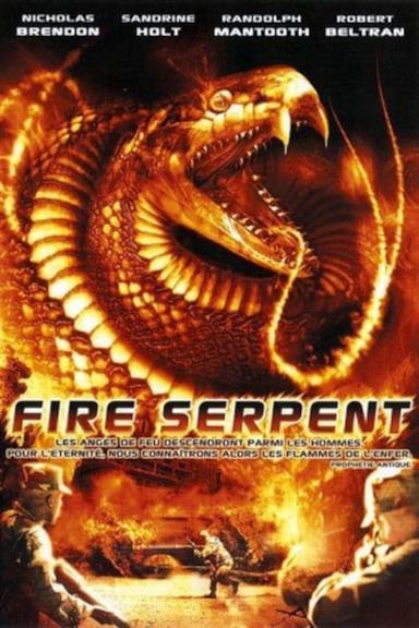 Poster Fire Serpent