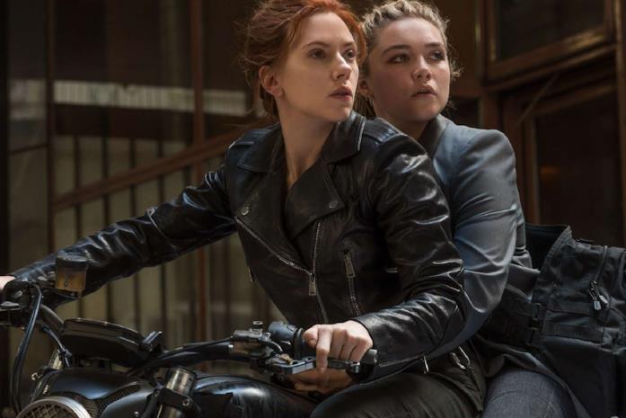Scarlett Johansson e Florence Pugh in Black Widow
