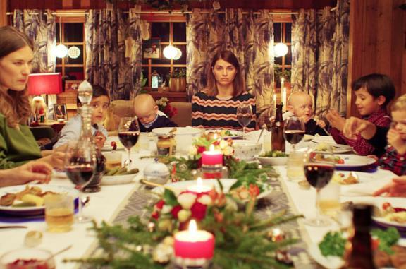 Una scena di Natale con uno sconosciuto 2