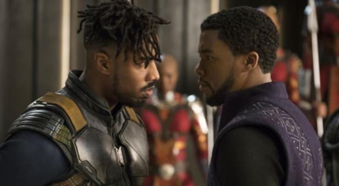 Un'immagine del film Black Panther