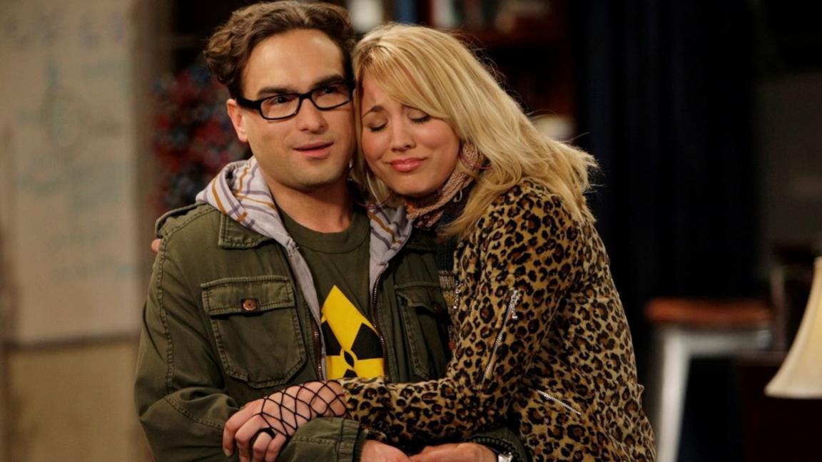 Penny e Leonard in The Big Bang Theory