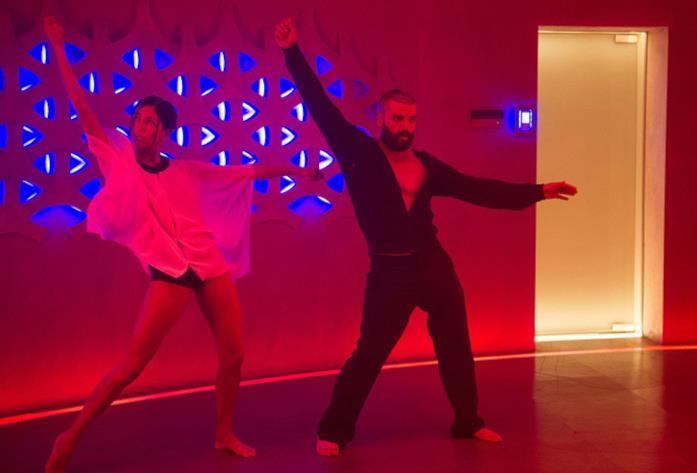 La scena di ballo di Ex Machina