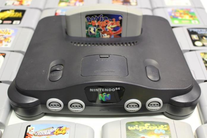 Banjo-Kazooie pronto per essere giocato con Nintendo 64
