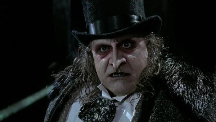 Pinguino nel film di Tim Burton
