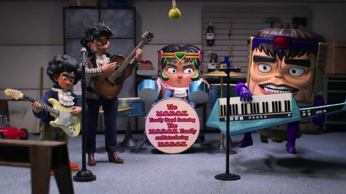 MODOK e gli altri personaggi della serie