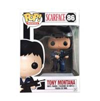 POP Scarfac Tony Montana # 86 Vinyl Action Figures Collection Model Toys for Children Gift