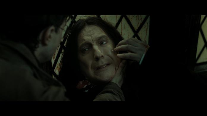 Severus Piton muore per mano di Voldemort