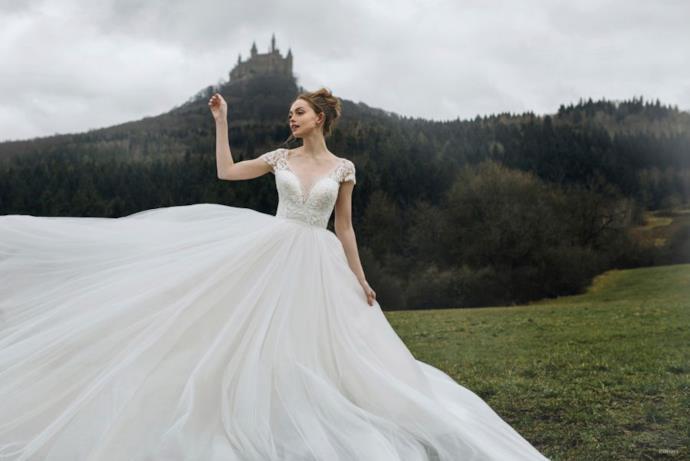 L'abito da sposa ispirato a Cenerentola