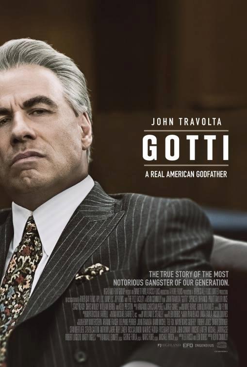 Gotti, il poster del film con John Travolta
