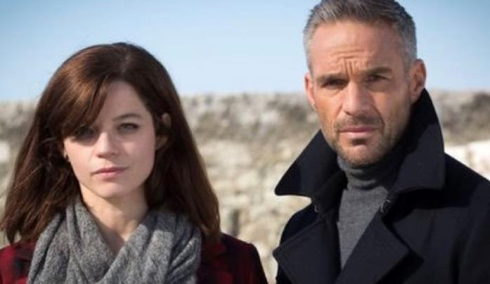 Adèle con Rocher nella stagione 8 di Profiling