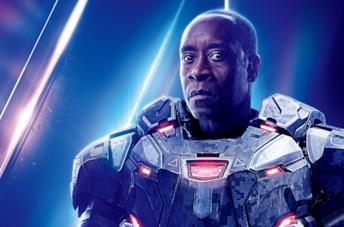 Un'immagine di Don Cheadle come War Machine