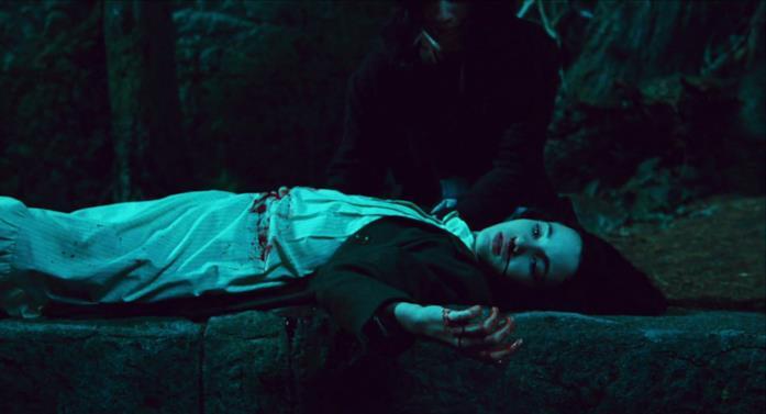 Ofelia morente, al centro del labirinto
