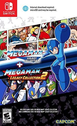 Mega Man: Legacy Collection 1 + 2 for Nintendo Switch [Edizione: Regno Unito]