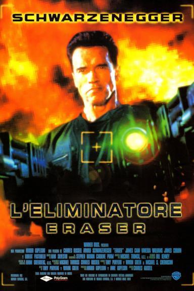 Poster L'Eliminatore - Eraser