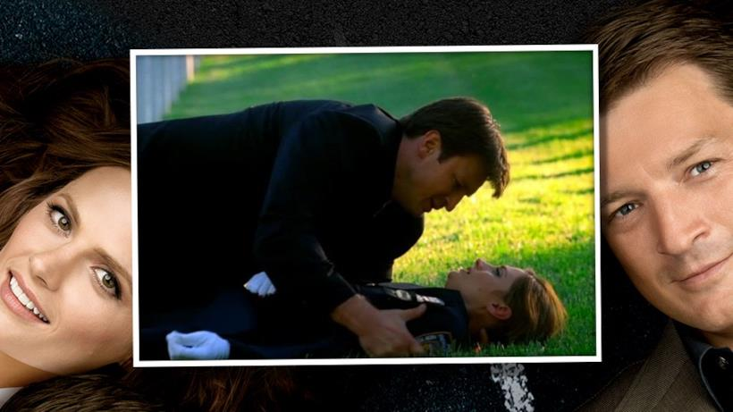 "7) Castle dice a Beckett ""Ti amo""."