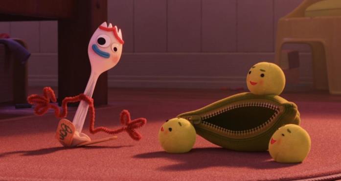 Forky e Peas-in-a-Pod