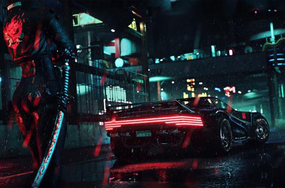 Cyberpunk auto