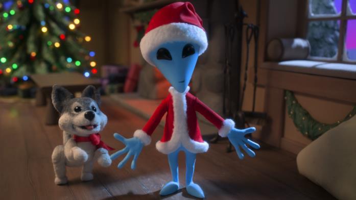 L'alieno di Natale eXtraterrestre