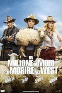 Poster Un milione di modi per morire nel West