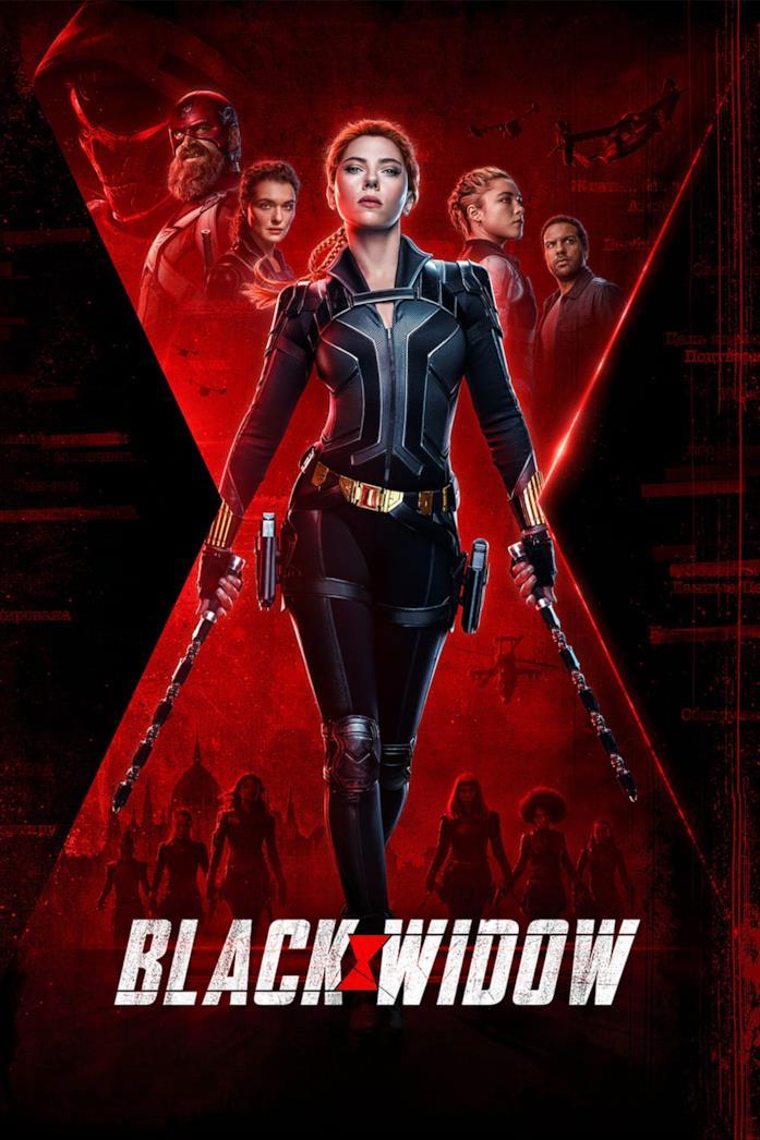 Scarlett Johansson come Black Widow