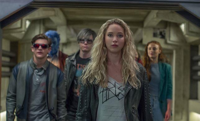 Jennifer Lawrence nei panni del mutante Mystica