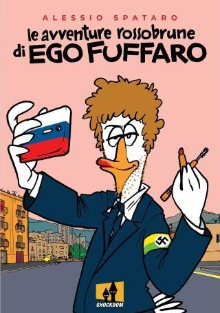 La cover del nuovo fumetto di Alessio Spataro