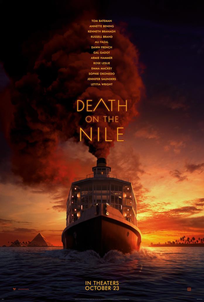L'imbarcazione di Assassinio sul Nilo e il grande fumo rosso