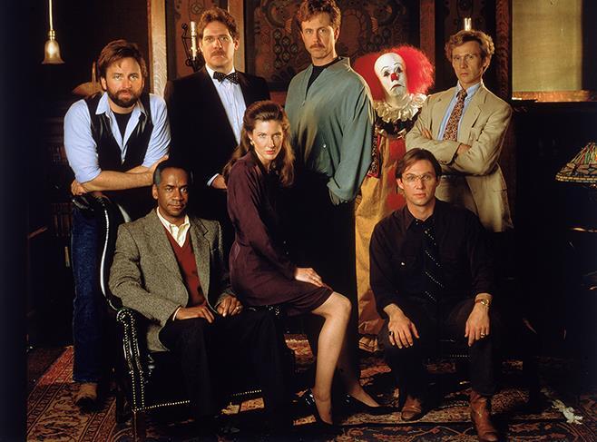 Gli attori adulti interpreti della mini-serie di IT