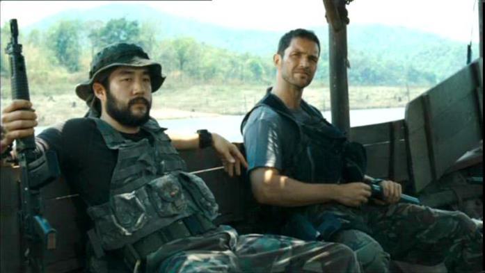Tim Kang in una scena del film John Rambo