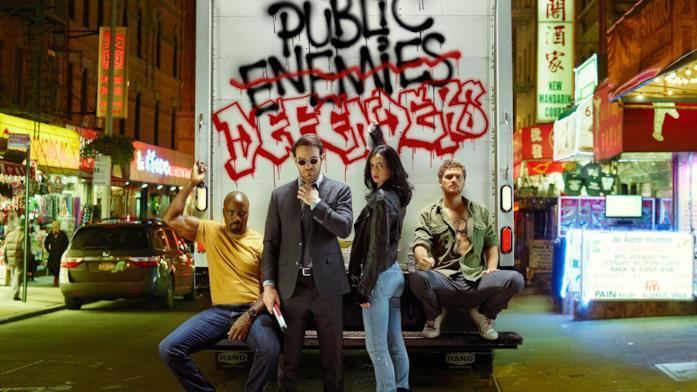 I protagonisti di The Defenders