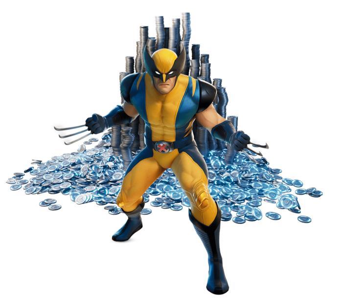 Immagine promozionale del costume di Wolverine utilizzabile in Fortnite