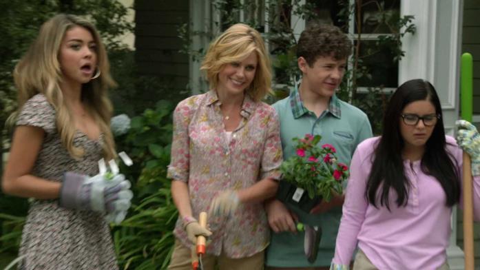 I protagonisti della serie Modern Family