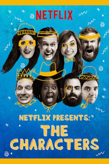 Poster Netflix Presents: The Characters