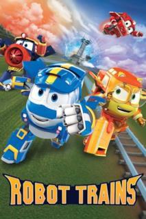 Poster Robot Trains